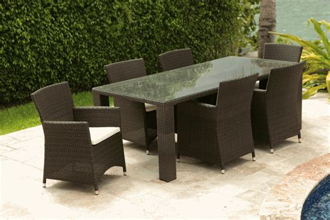 """Commercial Outdoor 84"""" X 40"""" Dining Table in St Tropez"""