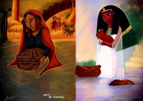 Queen Tuya & Ofra Haza As Yocheved Moses Real Mother