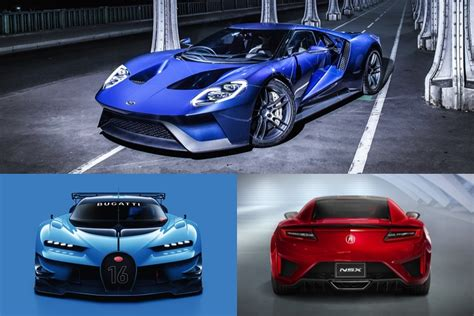 sports cars  supercars