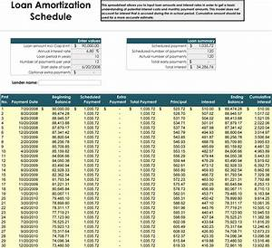 Car loan amortization table brokeasshomecom for Car payment schedule template