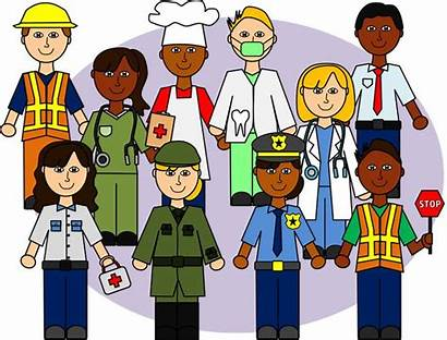 Community Clipart Helpers Clip Cartoon Preschool Commercial