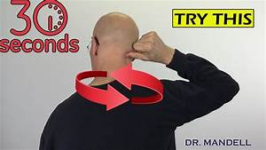 Fix Upper Neck Pain  Muscle Knots  U0026 Trigger Points In 30