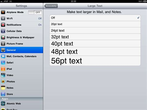 how to change text size on iphone default is select a larger font size to change