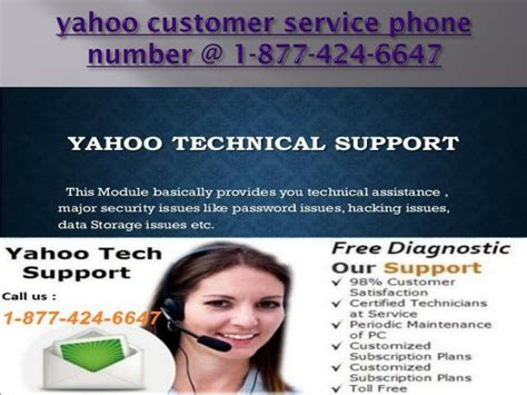 yahoo customer service phone ppt yahoo customer service number for any issue 1 877