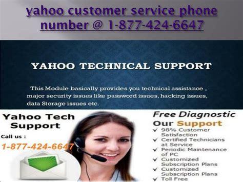 yahoo customer service phone number ppt yahoo customer service number for any issue 1 877