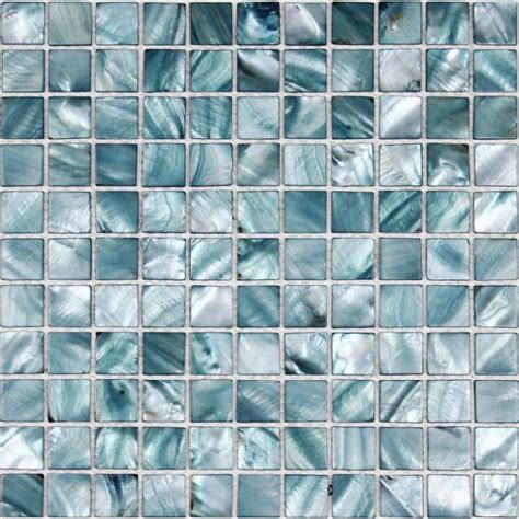 shell tiles 100 grey seashell mosaic of pearl