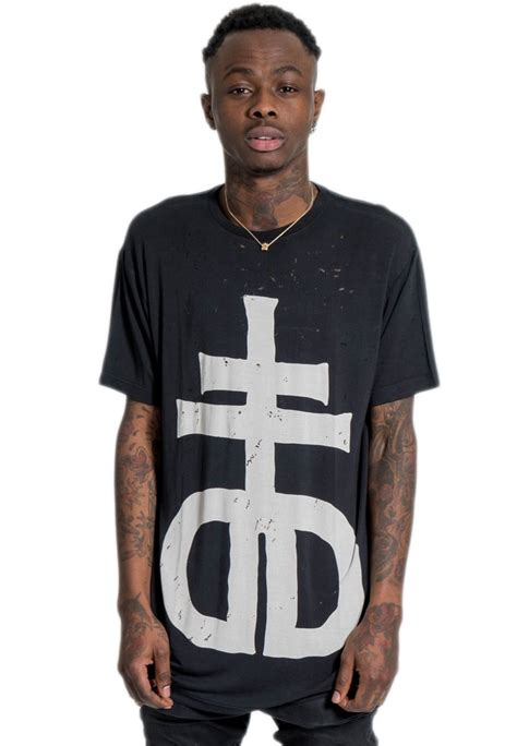 drop dead back from the dead drop dead cross t shirt impericon worldwide