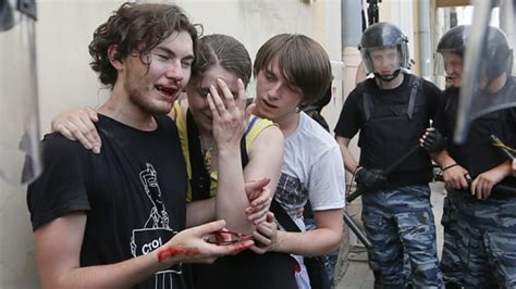 Russia S Rising Anti Gay Hysteria Russia Al Jazeera