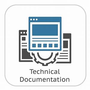 Technical Documentation Icon  Gear And Web Pages