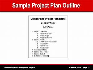 project plan outline beneficialholdingsinfo With how to write a project plan template