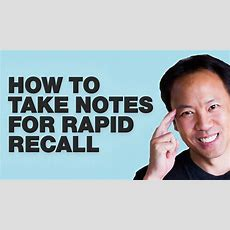 Kwik Brain Episode 13 How To Take Notes For Rapid Recall Youtube