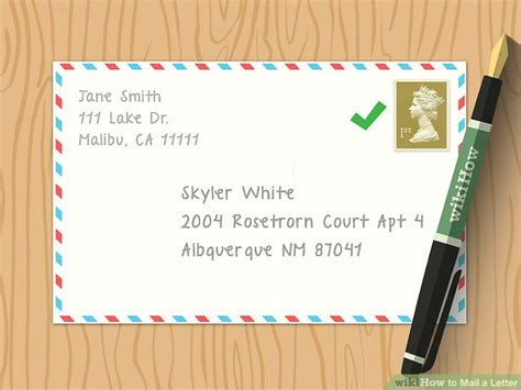 how much is it to mail a letter the easiest way to send a letter in the mail wikihow 69512