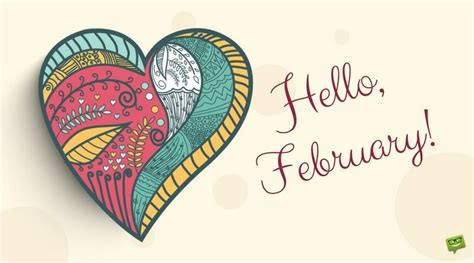 Hello, February!   A Reminder of Love