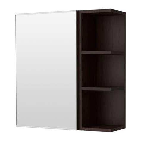 ikea lillangen bathroom mirror cabinet lill 197 ngen mirror cabinet 1 door 1 end unit black brown