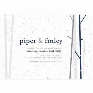 birch plantable wedding invitation plantable wedding With wedding invitations you can plant