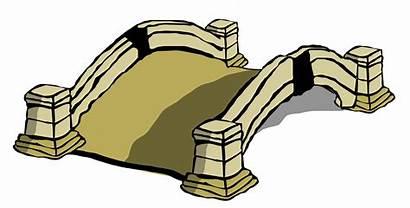 Bridge Clipart Clip Arch Country Cliparts Stone