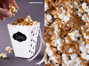 Popcorn Mit Honig : diy popcorn box basteln und salz karamell popcorn rezept nicest things ~ Orissabook.com Haus und Dekorationen