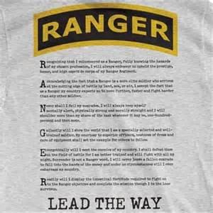 Army Ranger Creed