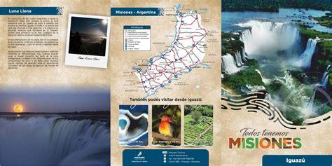 iguazu misiones arg  ministerio de turismo de misiones