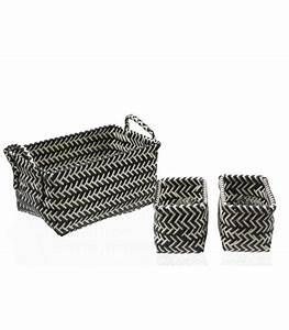 Panier De Rangement Salle De Bain : set de 3 paniers de rangement pour salle de bain osaka ~ Dailycaller-alerts.com Idées de Décoration