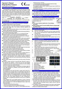 Biolight Meditech M70c Fingertip Pulse Oximeter User Manual