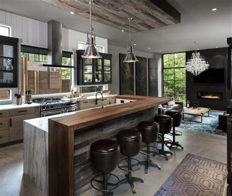 Kitchen Lighting Ideas Over Island - kitchen decorating modern industrial island fall door decor sink and toilet blue silver