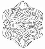 Celtic Coloring Pages Designs Adult sketch template