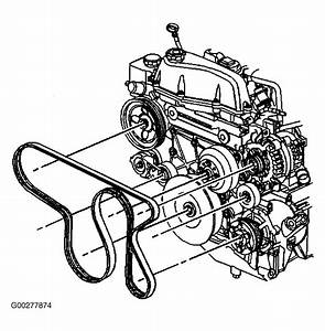2003 Oldsmobile Bravada Serpentine Belt Routing And Timing Belt Diagrams