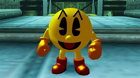 Pac Man From The Pac Man Series