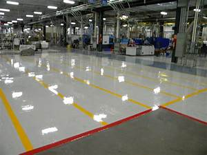 facilities management group epoxy flooring With factory floor coatings
