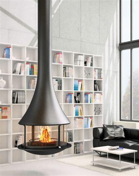 Kaminofen Für Wohnzimmer by 20 Einrichtungsideen F 252 R H 228 Ngenden Kaminofen Im Modernen Haus