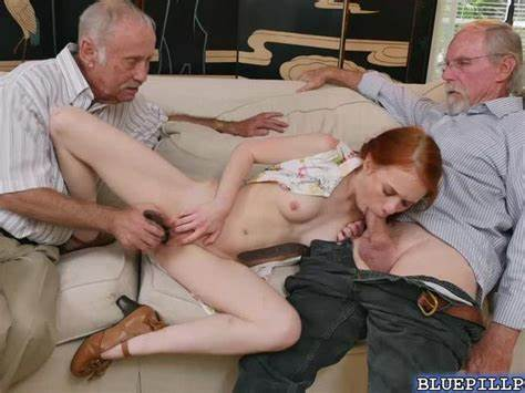 Redhead Dolly With Tanned Let Bj Pigtails Stepmother Girlfriend Undersized Bangs By Old Cuckold