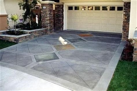 17 best ideas about stained concrete driveway on