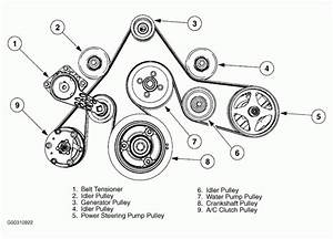 Wiring Diagram  11 2001 Nissan Altima Belt Diagram