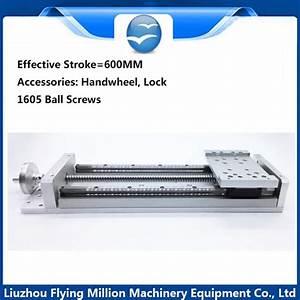 Linear Module Precision Cnc Electric  Manual 1605 Ball