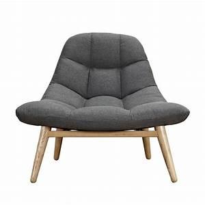 fauteuil melby gris anthracite adopez nos fauteuils With acheter fauteuil
