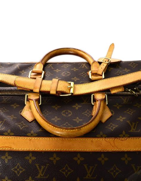 louis vuitton brown monogram lv cm cruise travel duffle bag unisex  sale  stdibs