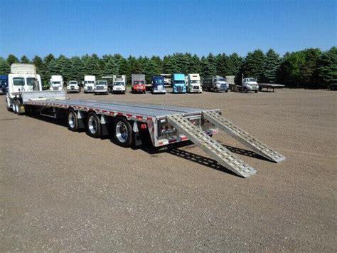 reitnouer big bubba ft tridem aluminum step deck trailer  sale