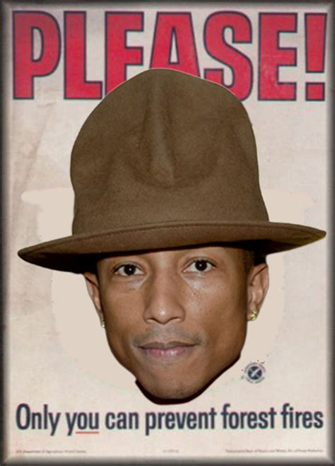 Pharrell Hat Meme - pharrell s hat at the grammys was cool as hell photo bostinno