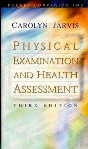 Pocket Companion For Physical Examination And Health Assessment 721684343