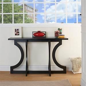 Tiarra, Curved, Design, Modern, Entryway, Table, -, Walmart, Com