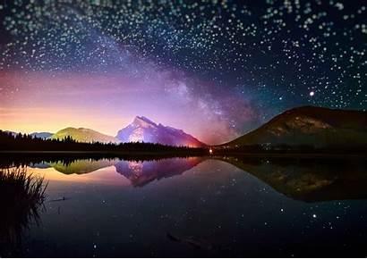 4k Sky Night Background
