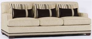 Sofas with nailhead trim cream sofa with nailhead trim for Sectional sofas with nailhead trim