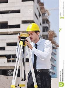 Architect, On, Construction, Site, Stock, Images