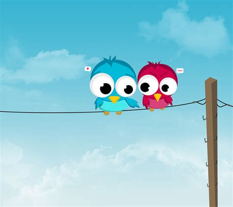 Cartoon Bird Android Wallpapers 960x854 Hd Wallpaper