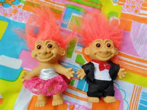 Orange Troll Dolls From the 90s