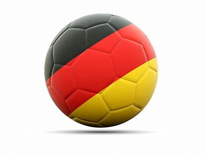Germany Football Icon Flag Illustration Non Commercial