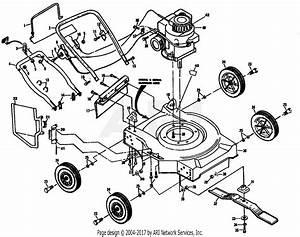 Poulan Pp730a Mower Parts Diagram For Mower Housing