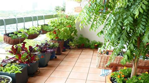 Garden Picture by Charming Balcony Garden Designs Ideas Small