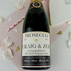 personalised champagne prosecco or wine label by tailored With how to start a wine label